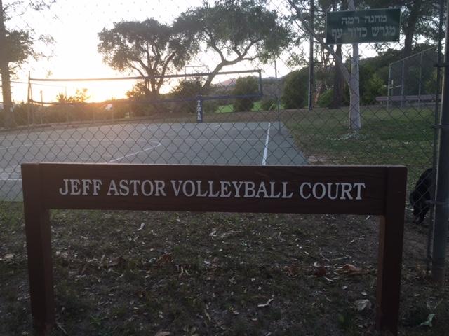 Jeff Astor Volleyball at Camp Ramah in California