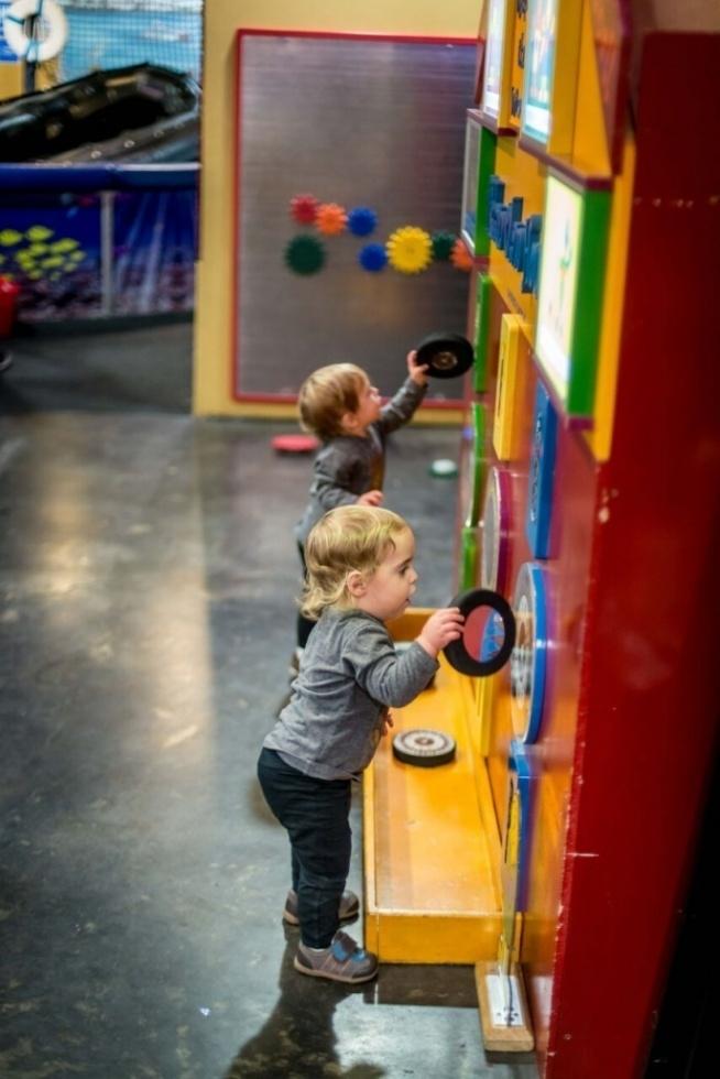 Jeff Astor Tzedakah Machine at Zimmer Children's' Museum