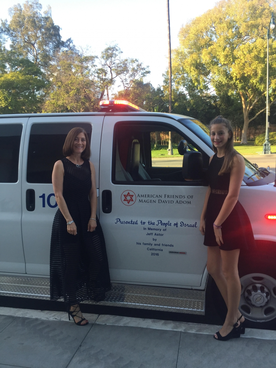 Ambulance Dedication Ceremony- Los Angeles