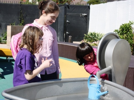 Friendship Circle Los Angeles Water Table